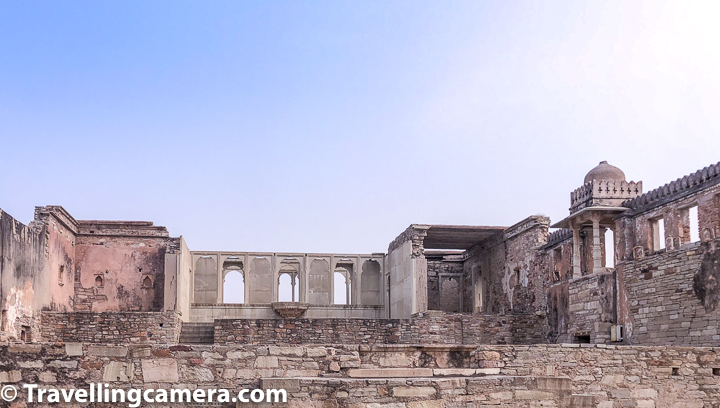All photographs in this blogpost are clicked with Mobile camera inside Rana Kumbha Palace. We shall other important monuments of Chittor Fort in separate posts and at the end, we will share a combined blogpost focussing on Chittor Fort - how to reach, where to stay, how to plan time inside Chittor fort, things to skip or to be aware about.   If you liked this post and found it helpful, I would request you to follow these things when traveling -   1. Manage your waste well and don't litter. Use dustbins. 2. Tell us if you went to a place and found it hard to locate a dustbin.  3. Avoid water bottles in hills. Usually you get clean water in hills and water bottles create lot of mess in our ecosystem. In plains, refill your bottles with RO at hotel.   4. Say big no to plastic and avoid those unhealthy snacks packed in plastic bags. Rather buy fruits.  5. Don't play loud blaring music in forests or jungle camps. You are a guest in that ecosystem and disturbing the locals (humans and animals) is not polite.
