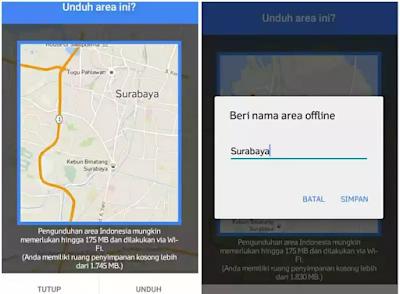 Cara Menggunakan Maps Offline