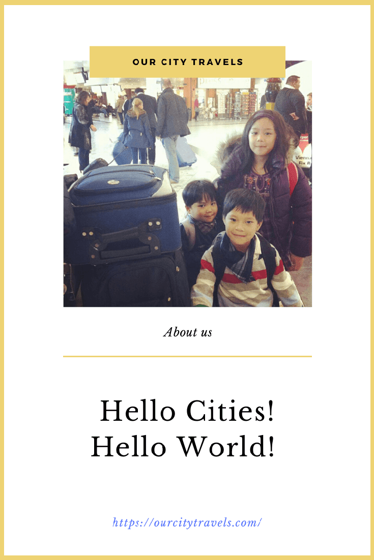 Hello Cities! Join my family in our travels, Europe city breaks, and staycations.....it may not be often but I do hope we'd get to have a lot more..