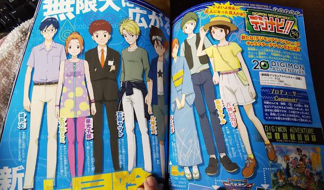 Digimon Adventure visual e detalhes dos personagens no novo filme Digimon-movie-2019