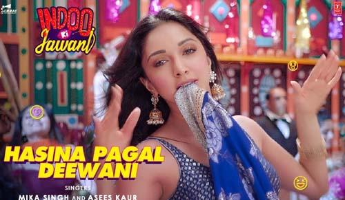 Hasina Pagal Deewani Lyrics - Indoo Ki Jawani   Mika