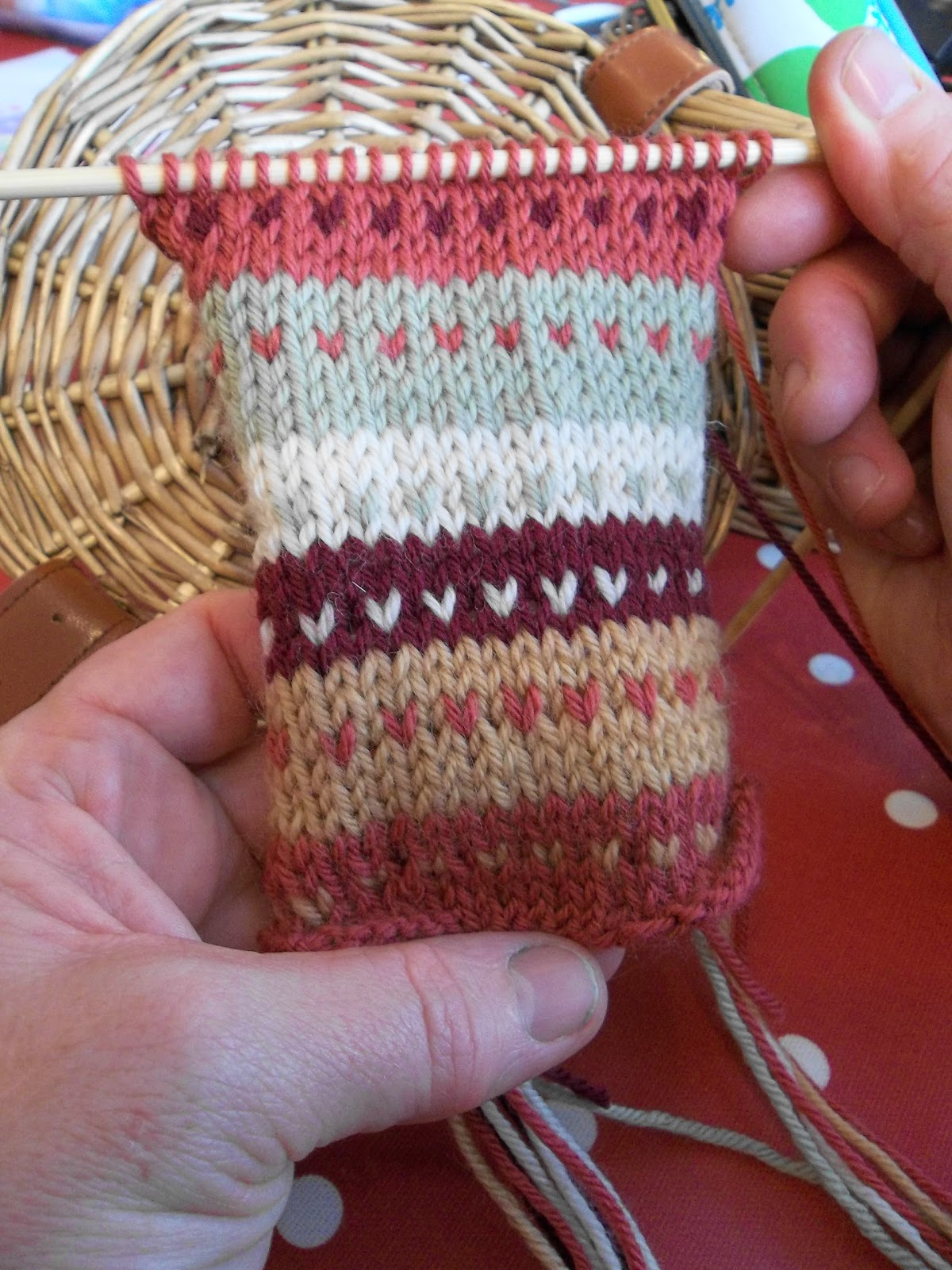 Knitting with Colour. Stranded Colour and Fair Isle Knitting Workshop.