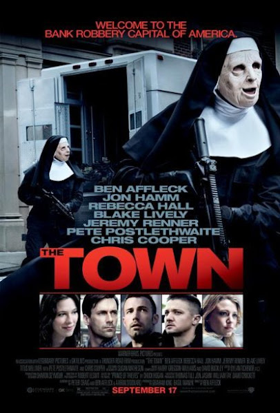 Poster of The Town 2010 UnRated 720p Hindi BRRip Dual Audio Full Movie Download