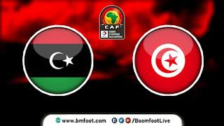 بث مباشر مباراة تونس ضد ليبيا مباشرة في تصفيات كأس أمم افريقيا 2021