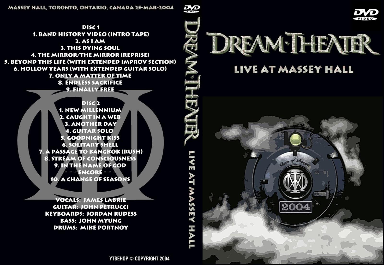 dream theater live in toronto 2004 03 25 2dvd. Black Bedroom Furniture Sets. Home Design Ideas