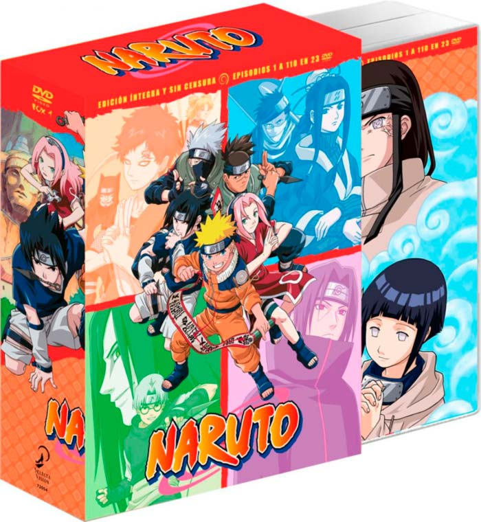 Naruto: La serie completa Box 1 DVD - Selecta Visión - anime
