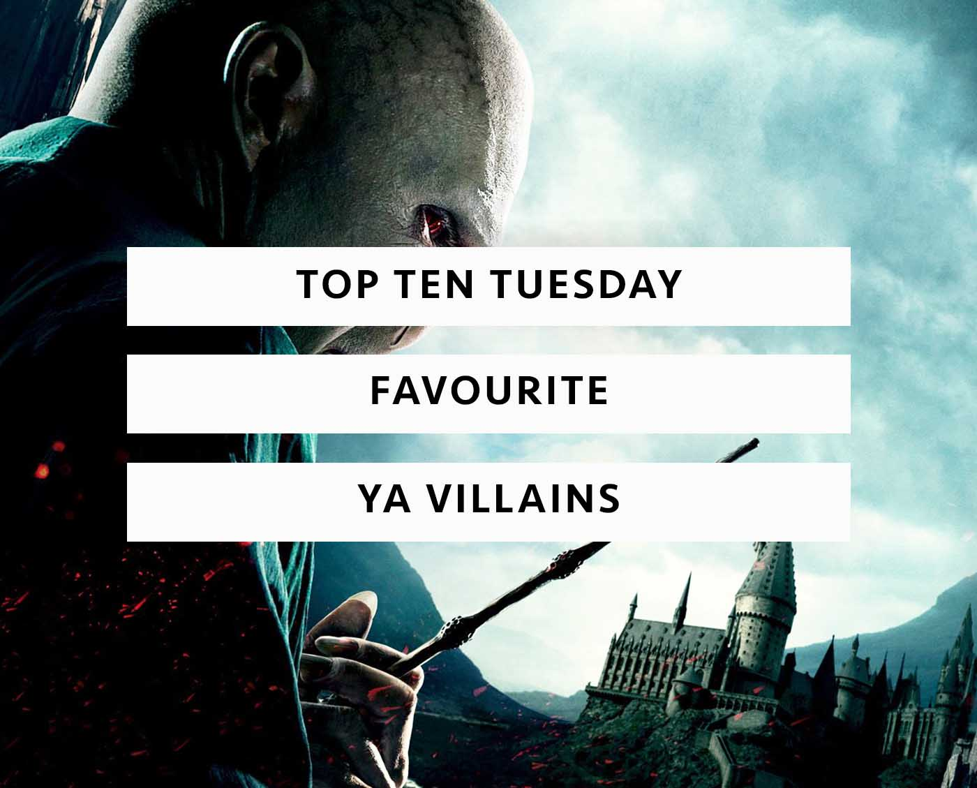 young adult villains top ten tuesday