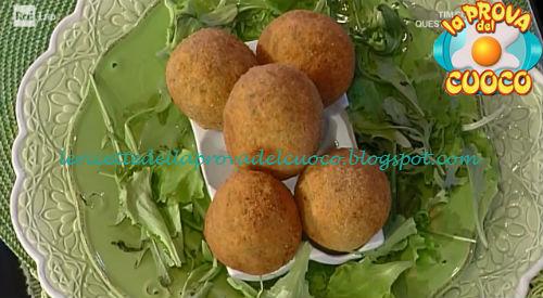 Uova croccanti ricetta Persegani da Prova del Cuoco