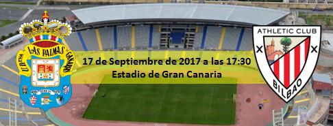 Previa UD Las Palmas - Atletic Club 17 Septiembre 17:30