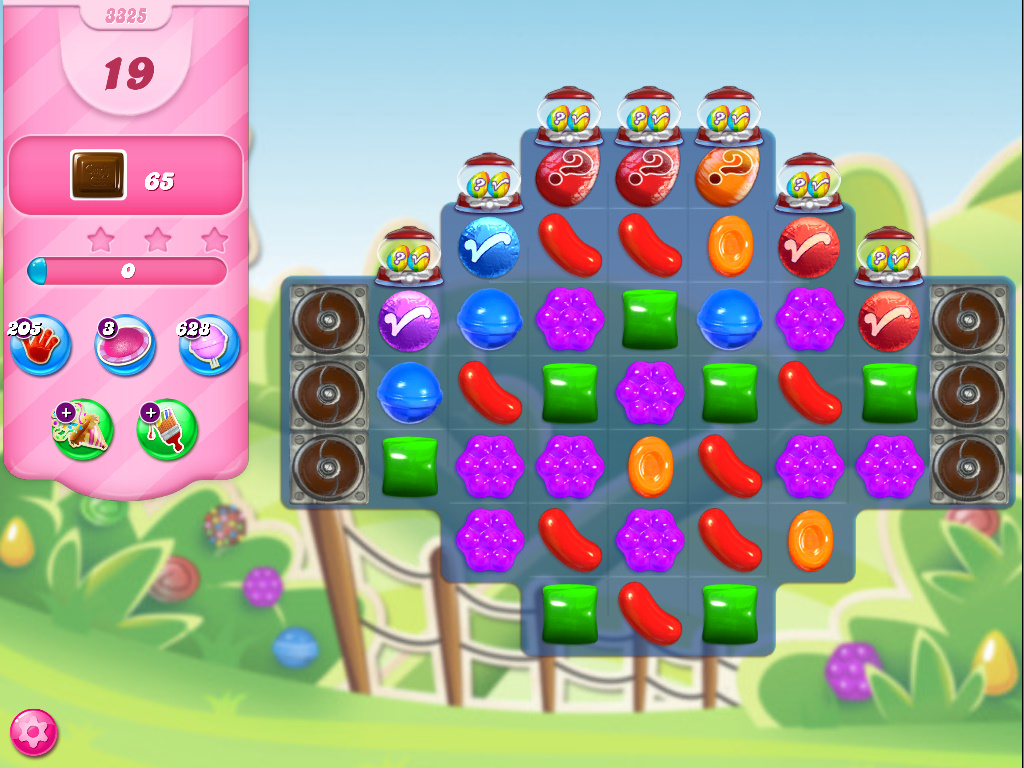 Candy Crush Saga level 3325