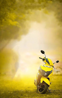 Best Scooty CB Background Yellow Tone Free Stock