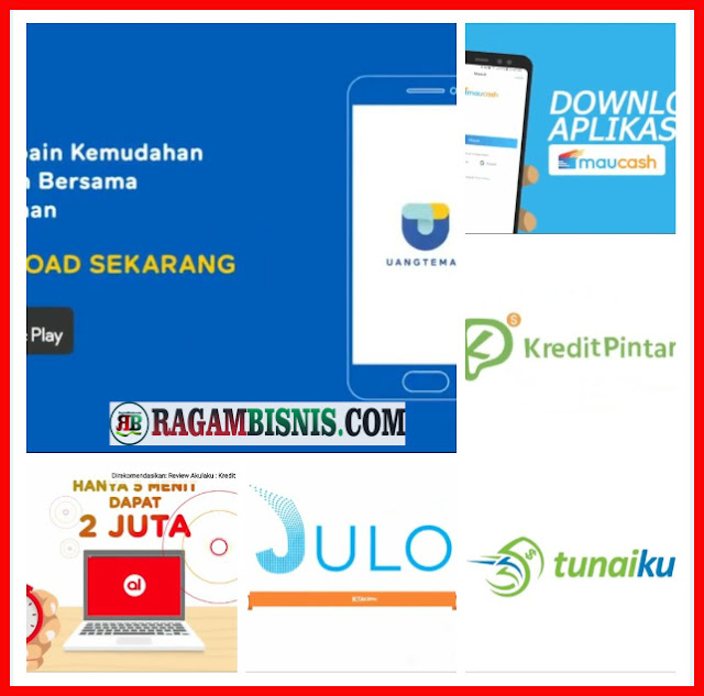 7 Aplikasi Pinjam Online Legal Cepat Cair