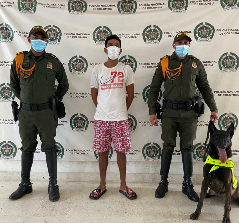 hoyennoticia.com, Por un perro capturan a un jíbaro en Riohacha