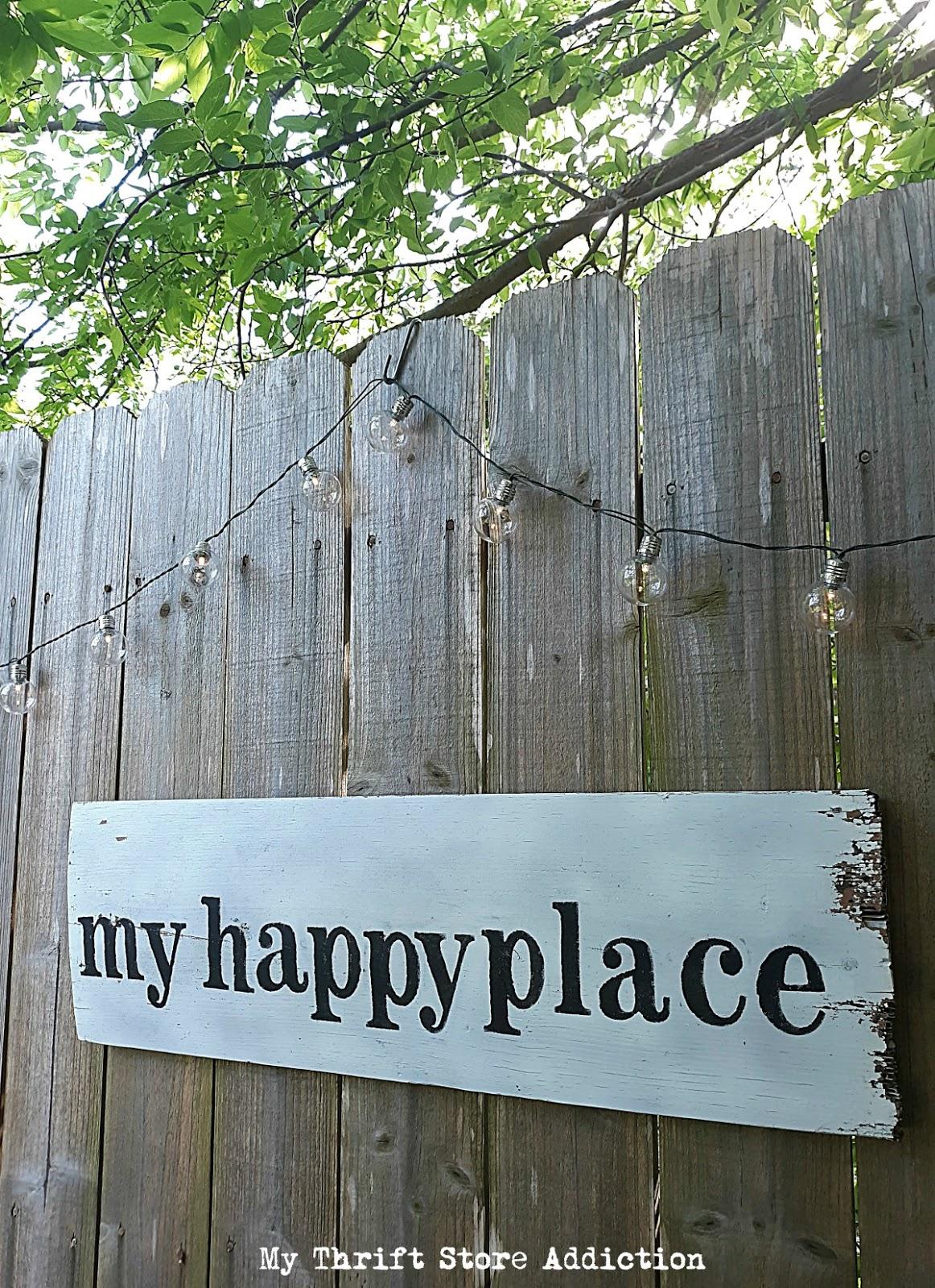 DIY garden retreat