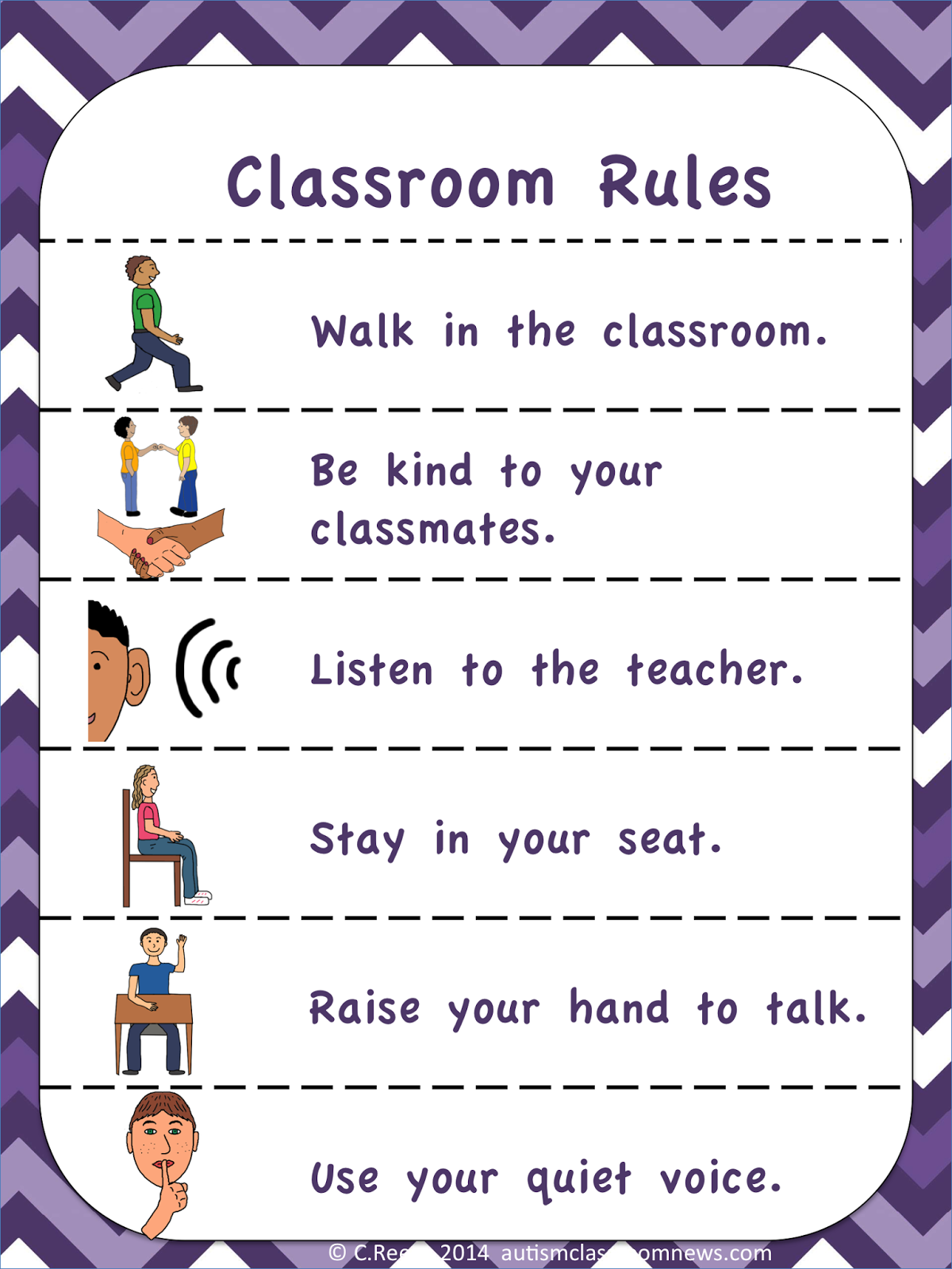 I Love English School Rules