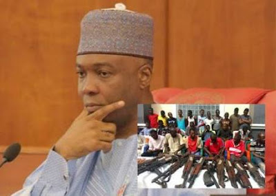 Saraki's Arrest: VP Osinbajo meets with AGF, SSS-DG, IGP Idris