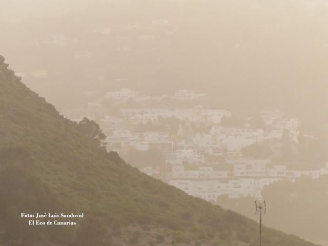 Galería fotos de la calima de hoy miércoles 2 de marzo, Las Palmas de Gran Canaria