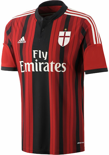 info for 5f440 bb7d4 Milan 14-15 Home, Away and Third Kits - Footy Headlines