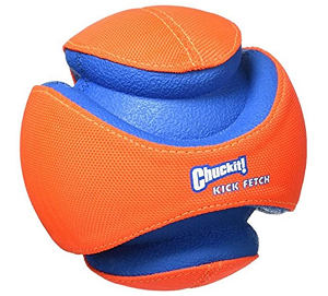 Chuck It Kick Fetch Toy Ball for Dogs