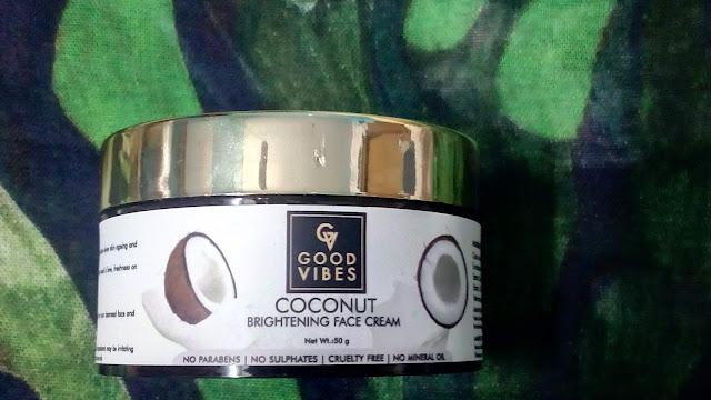 Good vibes coconut cream