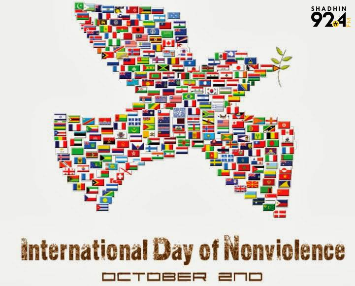 International Day of Non-Violence Wishes Unique Image