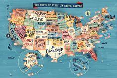 United States of America maps