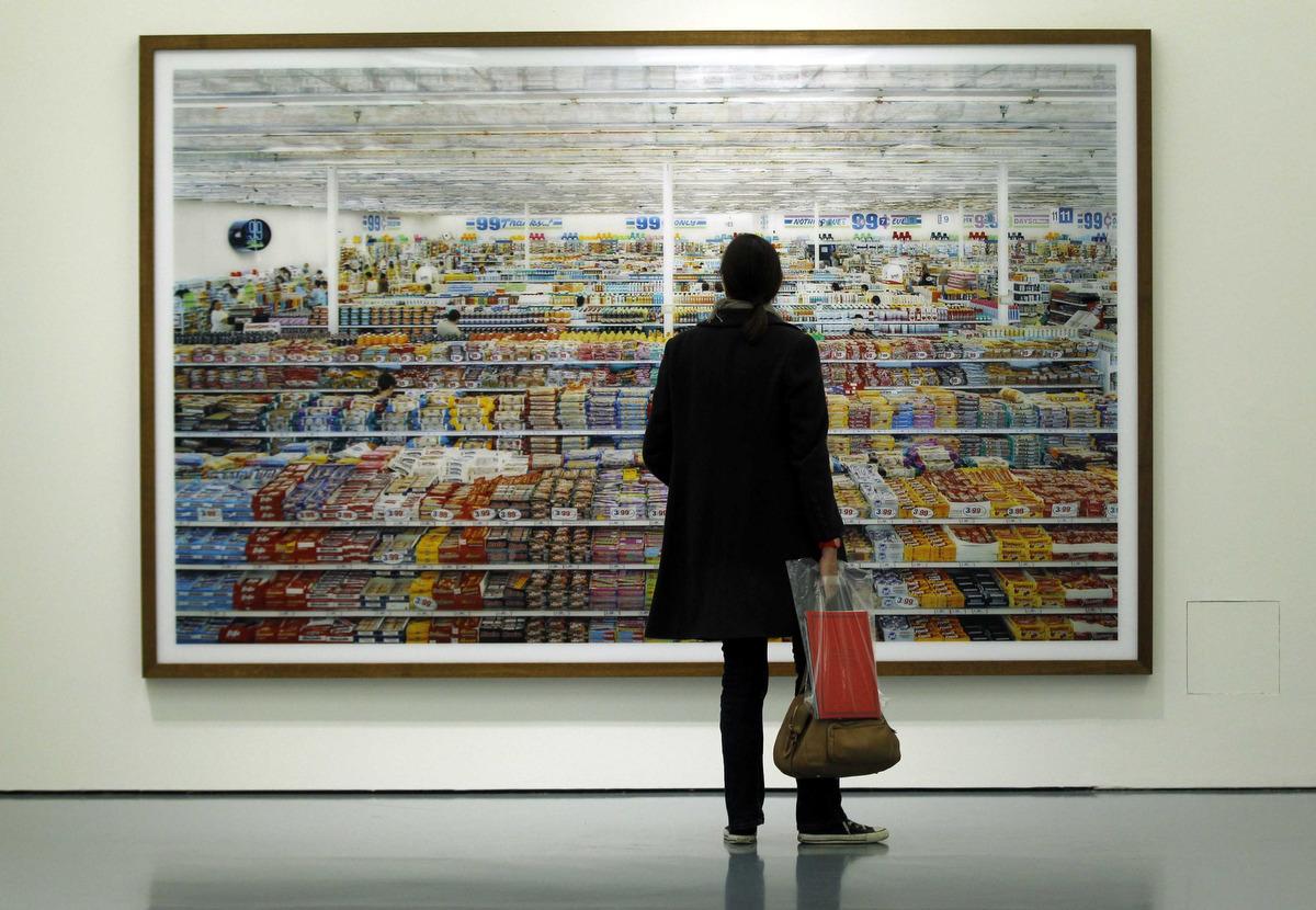 Andreas Gursky 99 Cent Installation View Museum Kunstpalast Dsseldorf