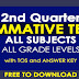 2nd Quarter SUMMATIVE TESTS (All Subjects - All Grade Levels)
