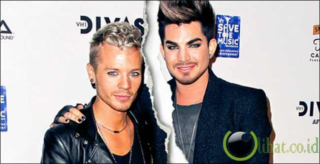 Adam Lambert dan Sauli Koskinen