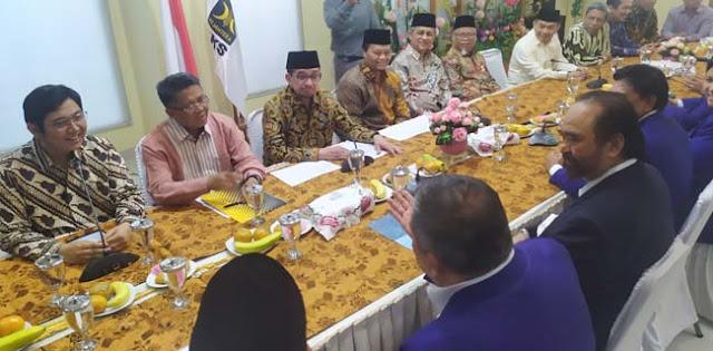 Surya Paloh Dapat Tugas Khusus Agar PKS Tidak Keras Ke Pemerintahan Jokowi