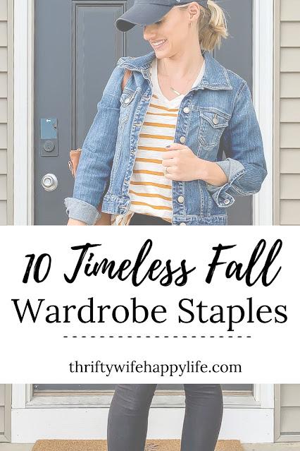 10 timeless fall wardrobe staples #fallwardrobe #wardrobestaples