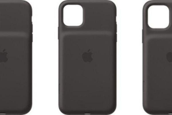 """Hé lộ ốp """"gù lưng"""" kiêm sạc dự phòng cho bộ ba iPhone 11"""
