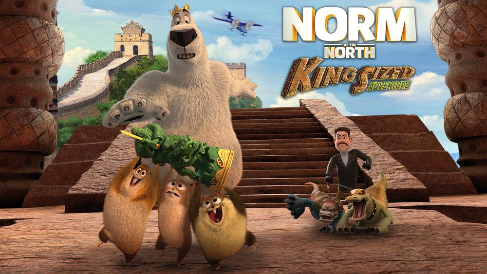Đầu Gấu Bắc Cực 3: Truy Tìm Cổ Vật