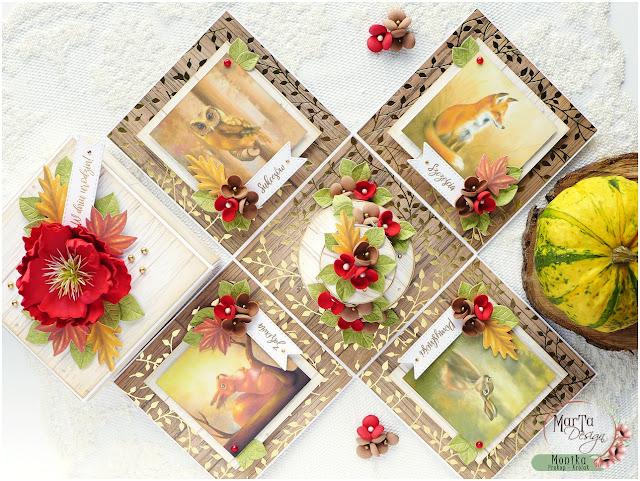 Jesienny box urodzinowy / Autumn birthday box