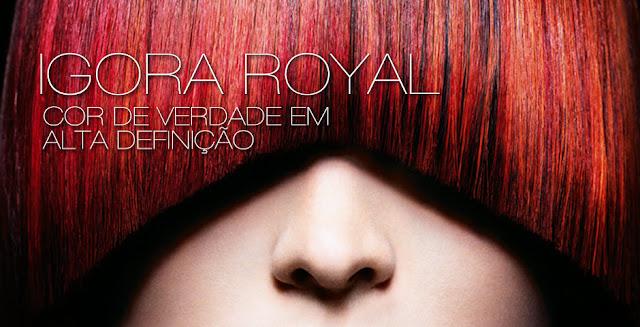 Igora Royal: Os vermelhos