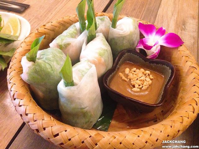 越南鮮蝦雞肉生春卷