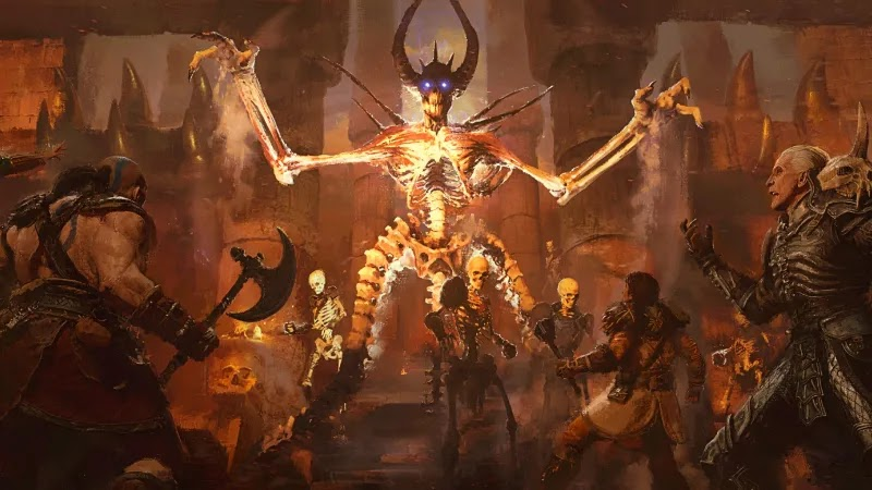 After first testing Diablo 2: Resurrected, the developers have improved the graphics and made several general fixes