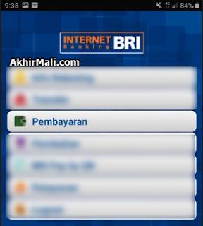 Pembayaran Internet Banking BRI