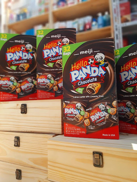 Bánh Hello Panda kem Socola Meiji loại 680g (21g x 32 gói)