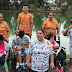 Crianças do Abrigo Moacyr Alves realizam passeio na Lagoa do Japiim