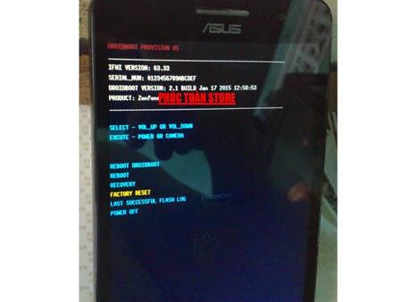 Zenfone 4.5 treo logo flash ok alt