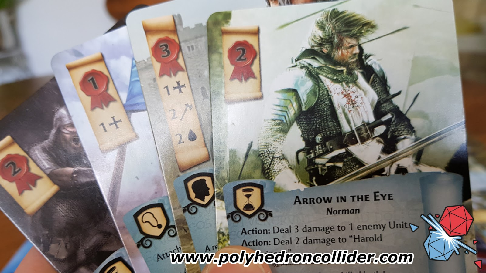 1066 Tears to Many Many Mothers Board Game Review - An Arrow in the Eye