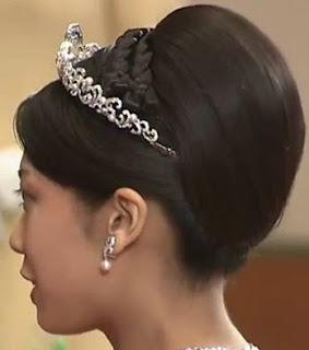 pearl diamond wave tiara princess noriko takamado japan mikimoto