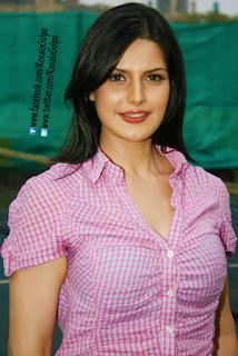 Zarine Khan Super Hot armpits boobs open