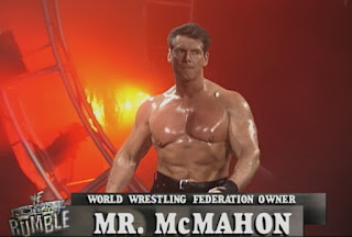 WWE / WWF Royal Rumble 1999 - Vince McMahon won the Royal Rumble matchup