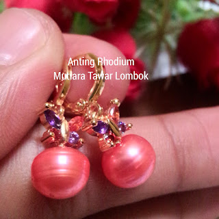 Harga Anting Mutiara Lombok Murah