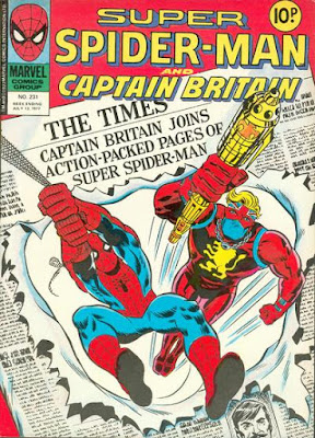 Marvel UK, Super-Spider-Man and Captain Britain #231