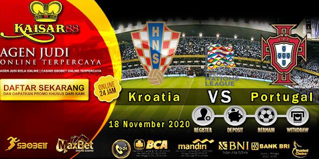 Prediksi Bola Terpercaya Ajang UEFA Nations Croatia vs Portugal 18 November 2020