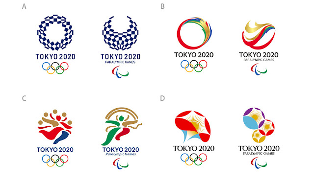 Tokyo 2020 Games - Logo Contest Finalists