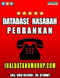 Download Database Nasabah Hot Prospek Marketing